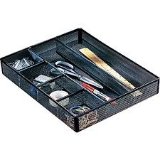 office drawer dividers. rolodex mesh deep desk drawer organizer 6 compartments black 11 78 office dividers e