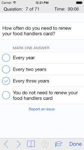 Food Handlers Test Answers Food Handling Test Answers Under Fontanacountryinn Com