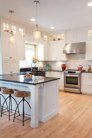 Light Hardwood Floors In Kitchen 32 Spectacular White Kitchens With Honey And For Perfect Ideas