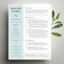 Resume Proper Font Size For Resume