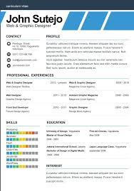 One Page Resume Mesmerizing Elegant One Page Resume Template