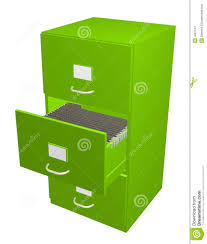 Green File Cabinet Green Filing Cabinet Stock Images Image 4687124