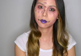 make up for ever zombie makeup look