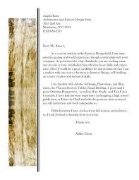 Interior Designer Cover Letter Sample Graphic Design Cover Letter