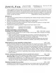 Jd Templates Interesting Resume Objective For Marketing