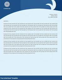 Free Personal Letterhead Templates Word Beauteous Letterhead Format In Word 44 Free Download Keni