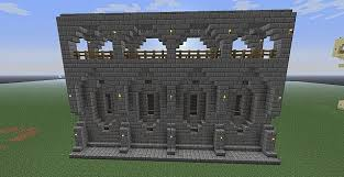 minecraft wall designs. Wall Designs Minecraft