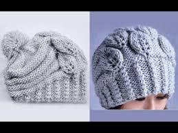 """Вязание <b>шапки</b> спицами """"Листочки"""". How to Knit a HAT - YouTube"""