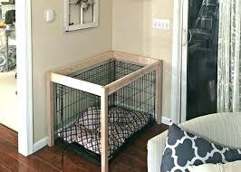 pet crate furniture. Pet Crate Furniture Dog Table For A Amazing .