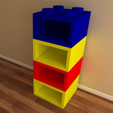 ... in a variety of colours and designs to suit girls and boys alike Made  from MDF Dimensions of 4 shelf unit - Children's furniture makers in Kent