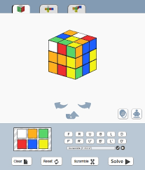 online cube online rubiks cube solver html css javascript