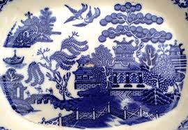 Blue Willow Pattern New Design