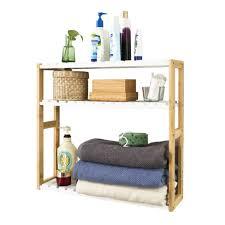 frg28 wn 3 tiers bathroom wall shelf