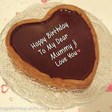 Mom, you are still gorgeous after all these years. Chocolate Heart Birthday Cake For Lover For Mummy Ji