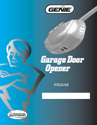 genie garage door opener manualGenie Garage Door Opener 1024 User Guide  ManualsOnlinecom