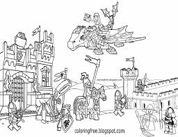 Lego City Coloring Pages Alancastroorg