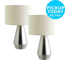 bedside table lamps habitat touch base table lamps set of 2 from the on bedside table lamps