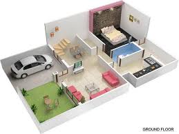 20 60 house plan with car parking house plans