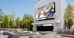 outdoor large tv 84 patio jpg