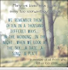 In Memory Of Our Loved Ones Quotes Mesmerizing Remembering Loved Ones Quotes QUOTES OF THE DAY