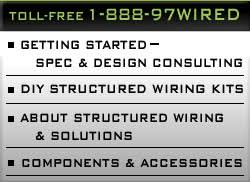 do it yourself structured wiring systems for residential homes do it yourself source for new home structured wiring systems