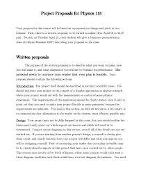 Business Letter Format Cover Letter Standard Business Format Cover Letter Project Proposal Examples Word