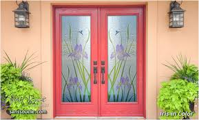 custom front entry doors with glass charming light custom glass doors sans soucie art glass