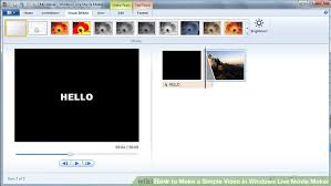 how to create a video how to make a simple video in windows live movie maker 7 steps