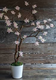 Paper Flower Branches Crepe Paper Cherry Blossom Branches Lia Griffith