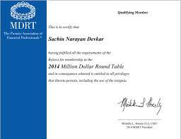 mdrt 2016 certificate