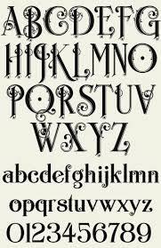 16 best letter stash images on vine font