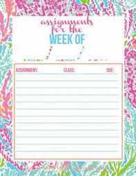 Pinterest     The world     s catalog of ideas Pinterest Made a new assignment tracker for the new semester  It     s in my favorite print this