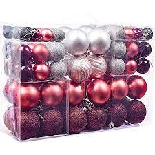 Victors Workshop Weihnachtskugeln 100tlgplastik Christbaumkugeln Set Christbaumschmuck Für Weihnachtsbaum Weihnachtsdeko Hausdeko Mysteriöser Palast