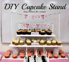 Cupcake Display Stand Ideas 100 DIY Cupcake Stands Cupcake stands Wedding and Jar painting 2