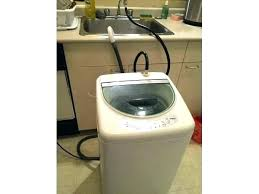 haier portable washing machine. Portable Washing Machine Washer And Dryer Stand 1 Cubic Foot Haier Parts Home Depot 8