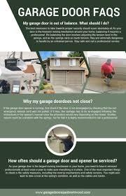 brentwood garage doorDoor Repair Brentwood Infographic