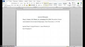 Creating An Apa Format Annotated Bibliography Capstone Project