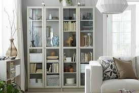Glass shelves bookcase Glass Doors The Ikea Billy Bookcases Come In Beige And Other Colours And Have Adjustable Shelves That You Ikea Bookshelves Bookcases Ikea