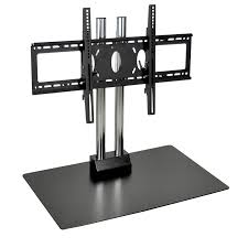 Commercial Tv Display Stands Beauteous H Wilson Commercial Table Top Pedestal For 3232 Inch Screens Black