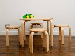 chairs child table childrens and set wood