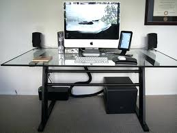 office depot glass computer desk. Office Depot Glass Computer Desk. L Desk Black Gorgeous With Drawers O