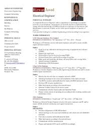 Impressive Plant Engineer Resume Pdf On Electrical Foreman Resume