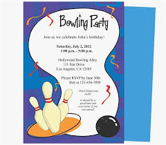 Bowling Invitation Mesmerizing Bowling Invitation Template Picture Free Printable Bowling