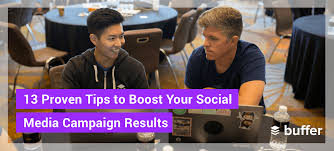 13 proven tips on running successful social a caigns