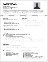 budget analyst resume template for ms word budget analyst resume sample