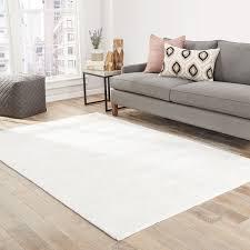 lizette handmade solid white area rug 8u0026x27 white area rug z95 rug
