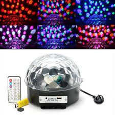 Sound Active DJ Dance Studio Laser Stage Lighting Light Magic Ball is new  and never used. Ideal for Disco, Ballroom, KTV, Bar, Stage, Club, Party etc.