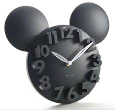 mickey mouse wall clock mickey mouse acrylic electronic large decorative wall clock modern design kitchen watch silent digital wall clock home decor