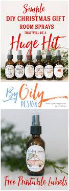 6 simple diy gift room sprays