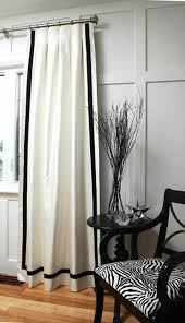 Simple Black And White Curtains Accessories Bedroomwhite In Decorating Ideas